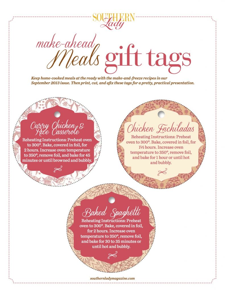 Make-Ahead Gift Tags