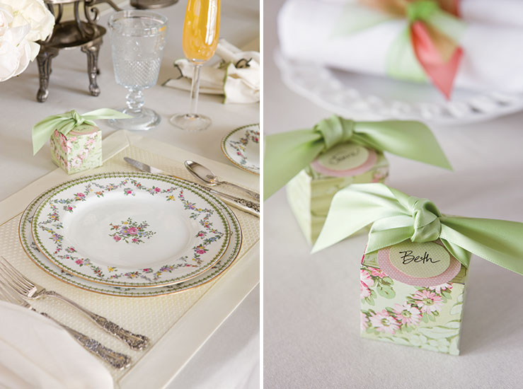Bridesmaid Luncheon Tea Setting