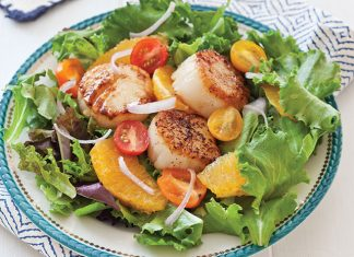 Seared-Scallop-Salad-Recipe