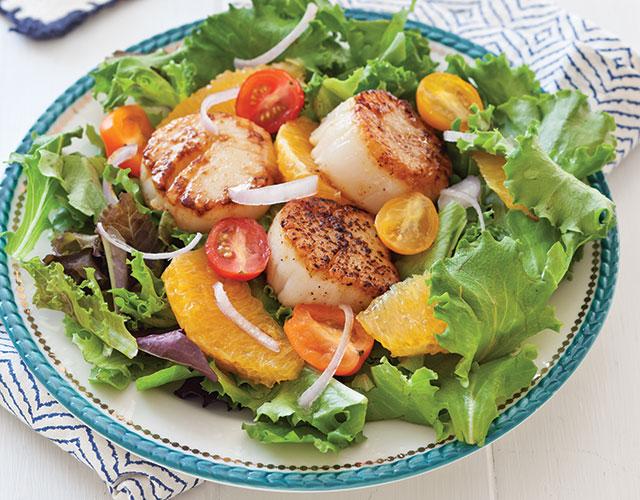 Seared-Scallop-Salad-Recipe