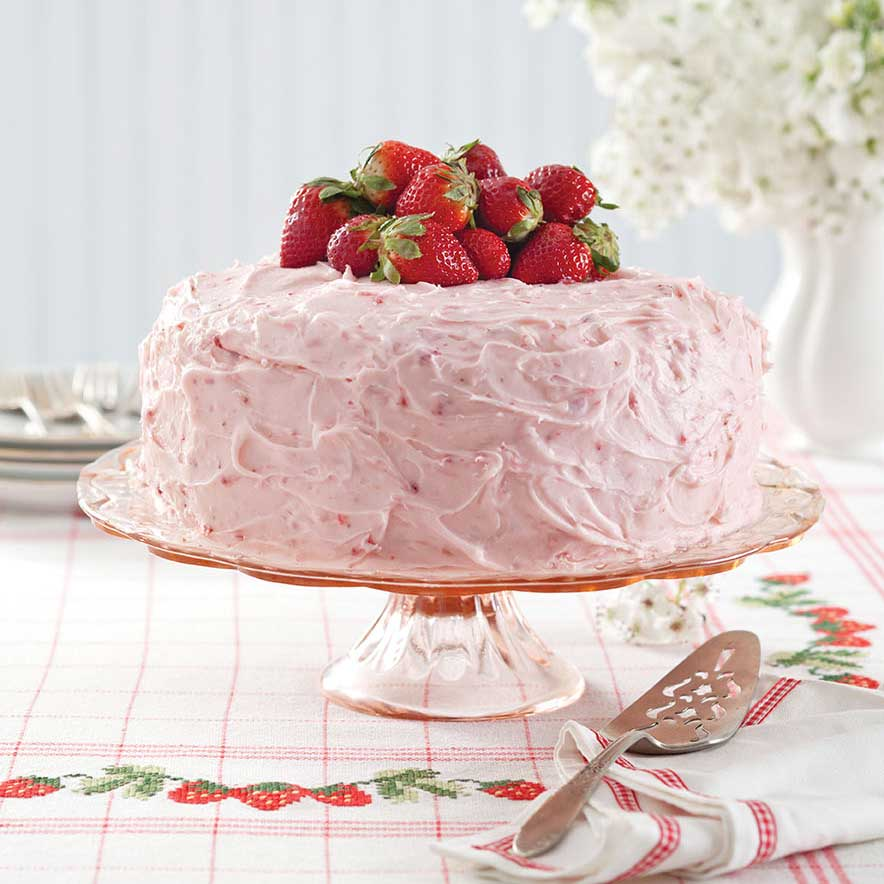 Strawberry Cake Filling Ideas