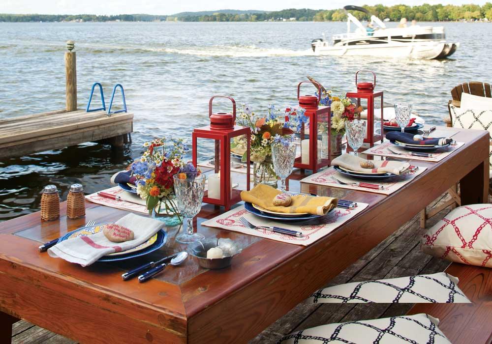 A Dockside Dinner