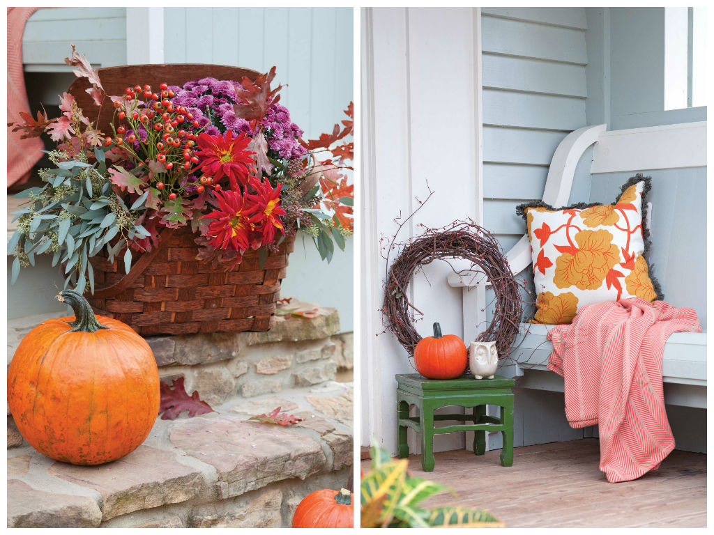 Porches & Pumpkins