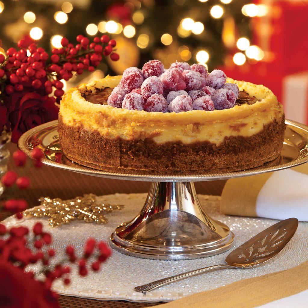 Crème Brûlée Cheesecake - Southern Lady Magazine