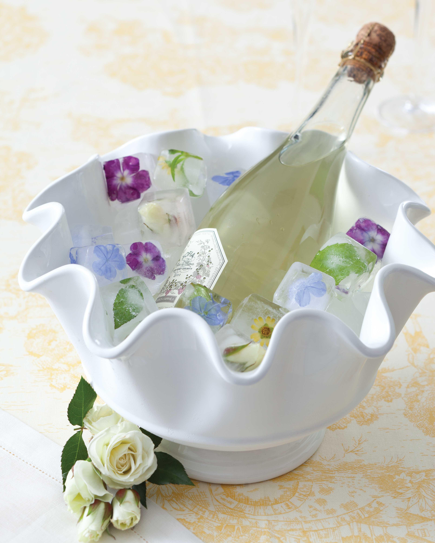 Spring entertaining ideas, ice cubes