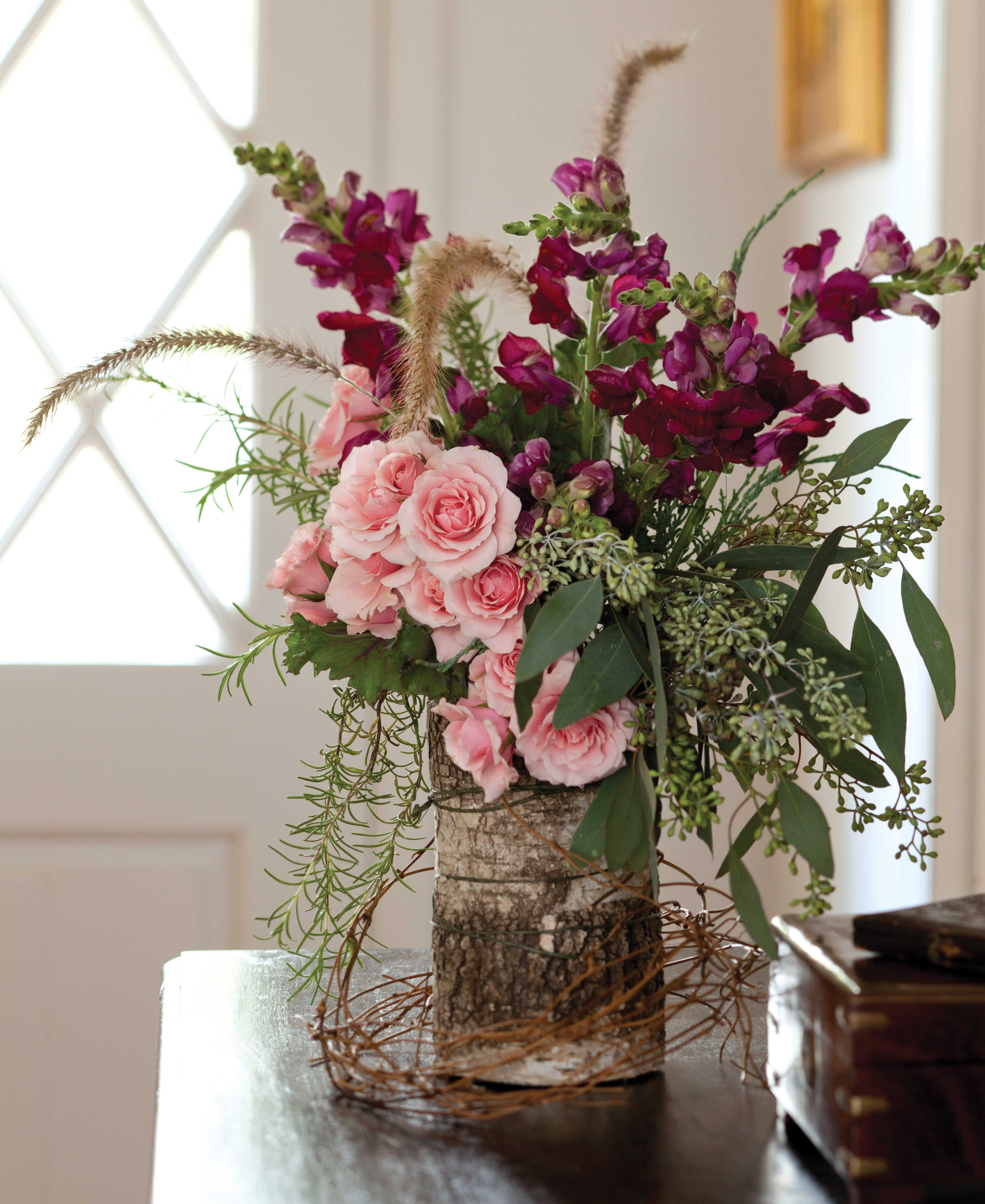 Seven Floral Arrangements For Winter Southern Lady
