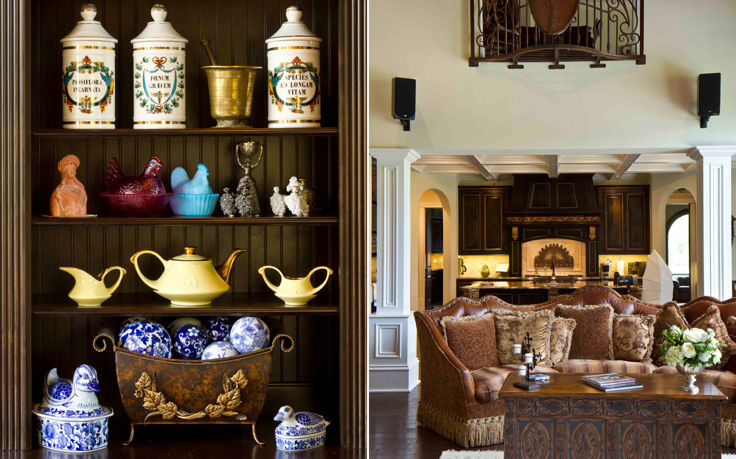 A New Home Rich in Antiques - southernladymagazine.com