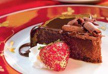 Flourless Chocolate Cake, southernladymagazine.com