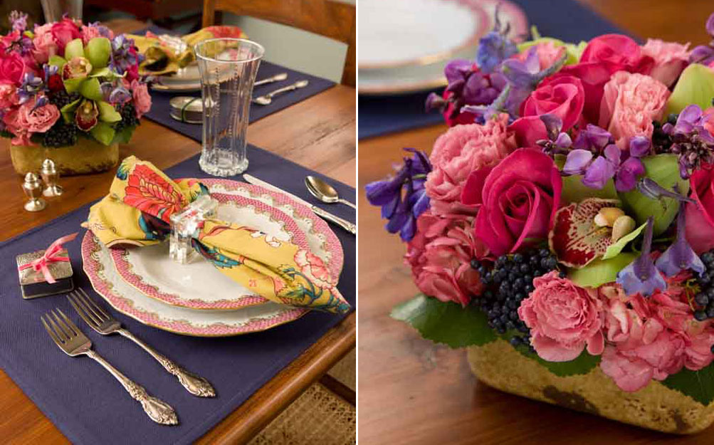 A Heartfelt Valentine's Table Setting