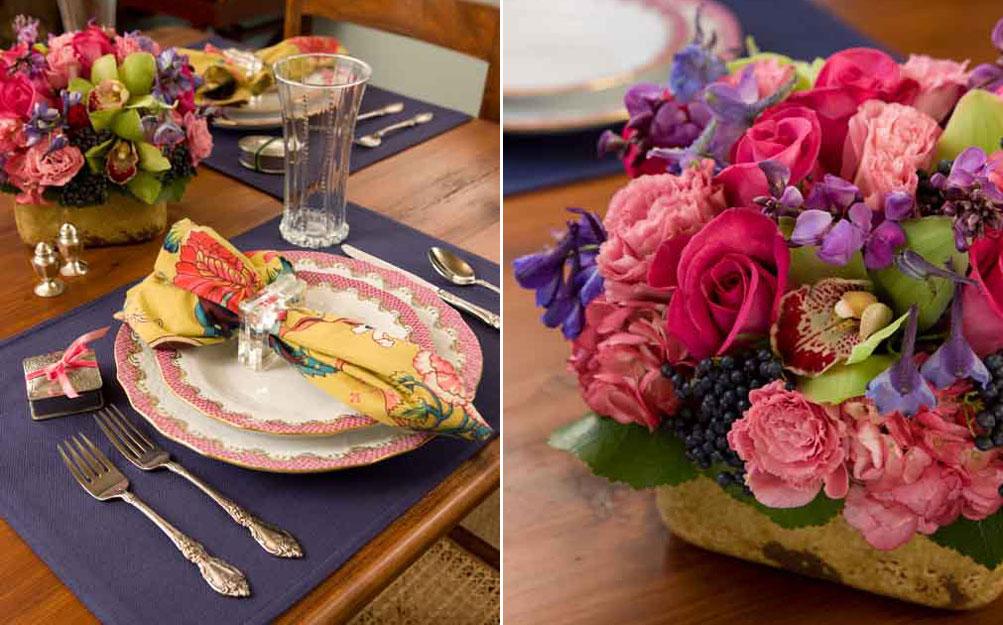 A Heartfelt Valentine's Table Setting