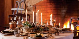 Woodland-Inspired Table Setting
