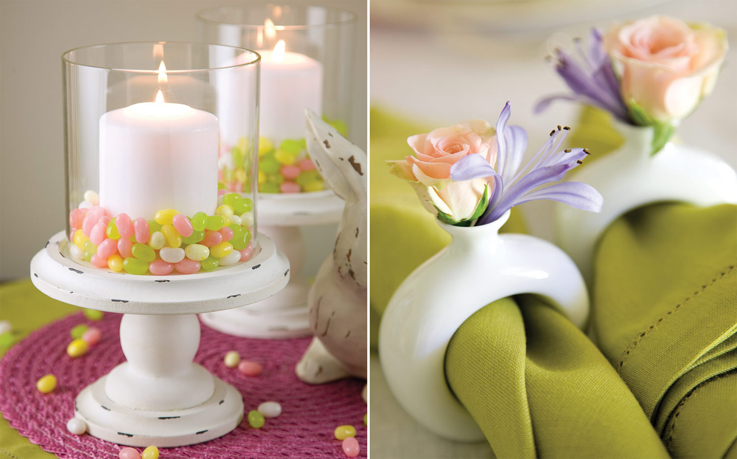 Easter Menu, Table Decor - Southern Lady Magazine