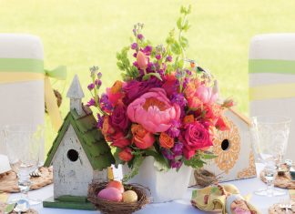 Easter Floral Arrangements - Southern Lady Magazine