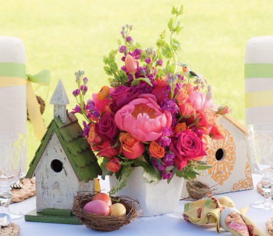 Easter Floral Arrangements - Southern Lady Magazine