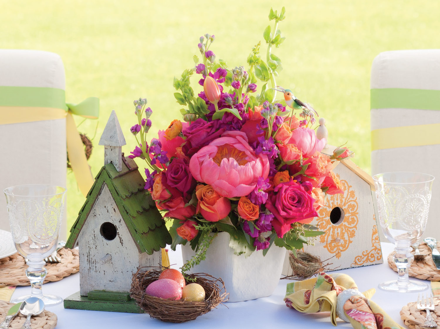 14 Diy Home Decor Ideas To Refresh Your This Spring Top Inspirations Easter Flower Arrangements