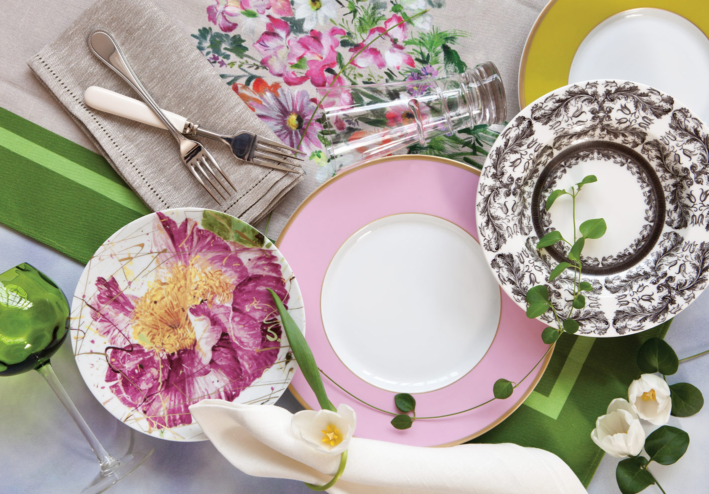 Easter Table Setting Two Ways - Southern Lady Magazine
