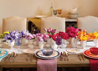 Rainbow Table Setting - Southern Lady Magazine