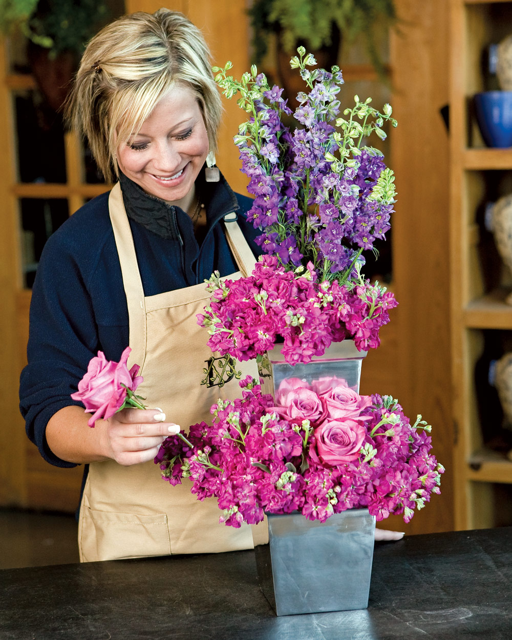 Nested Floral Arrangement - Southern Lady Magazine