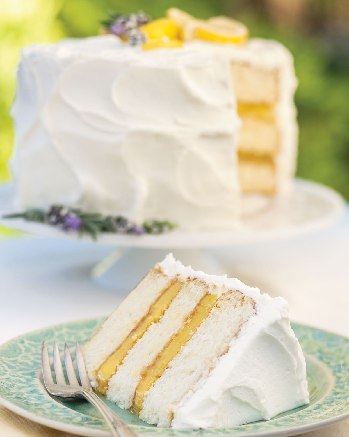 Southern Lady Magazine Lemon Pound Cake Limoncello Cream