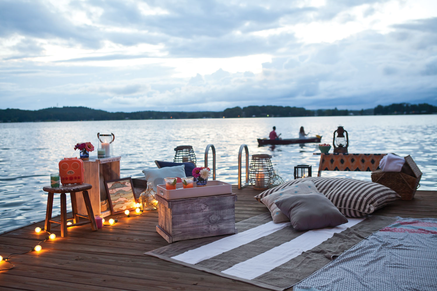 Date Night on the Dock- Southern Lady Magazine