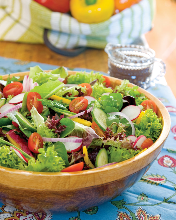 Summer Garden Salad with Balsamic - Southern Lady