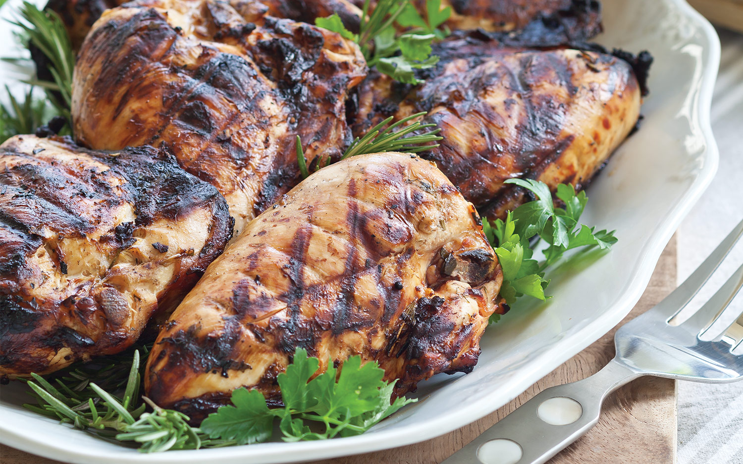Tangy Herb-Marinated Chicken