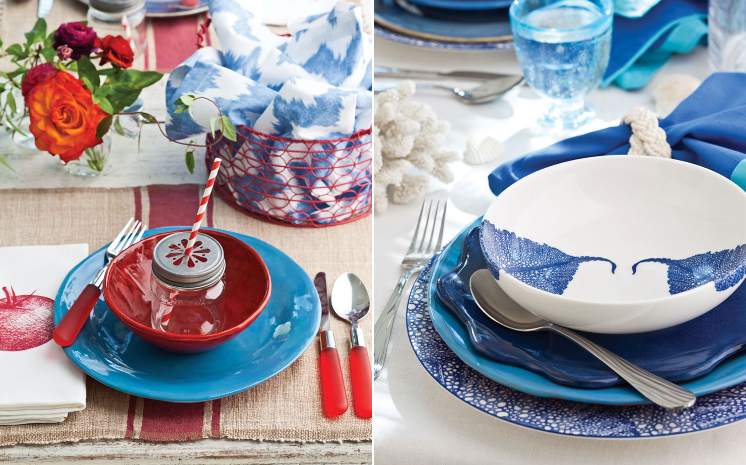 Fourth of July Table Settings - Southern Lady Mag