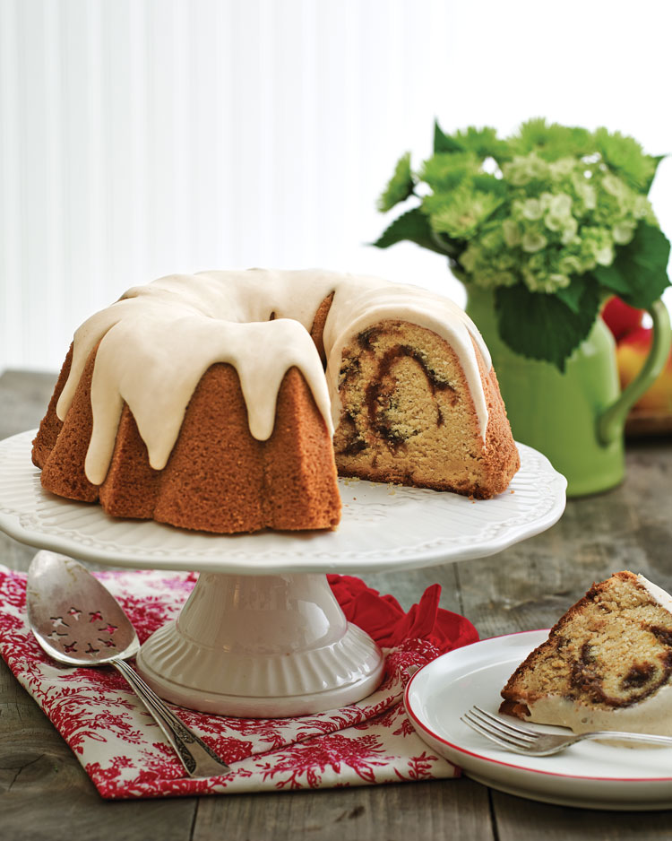 A photo of Apple Butter Pound Cake