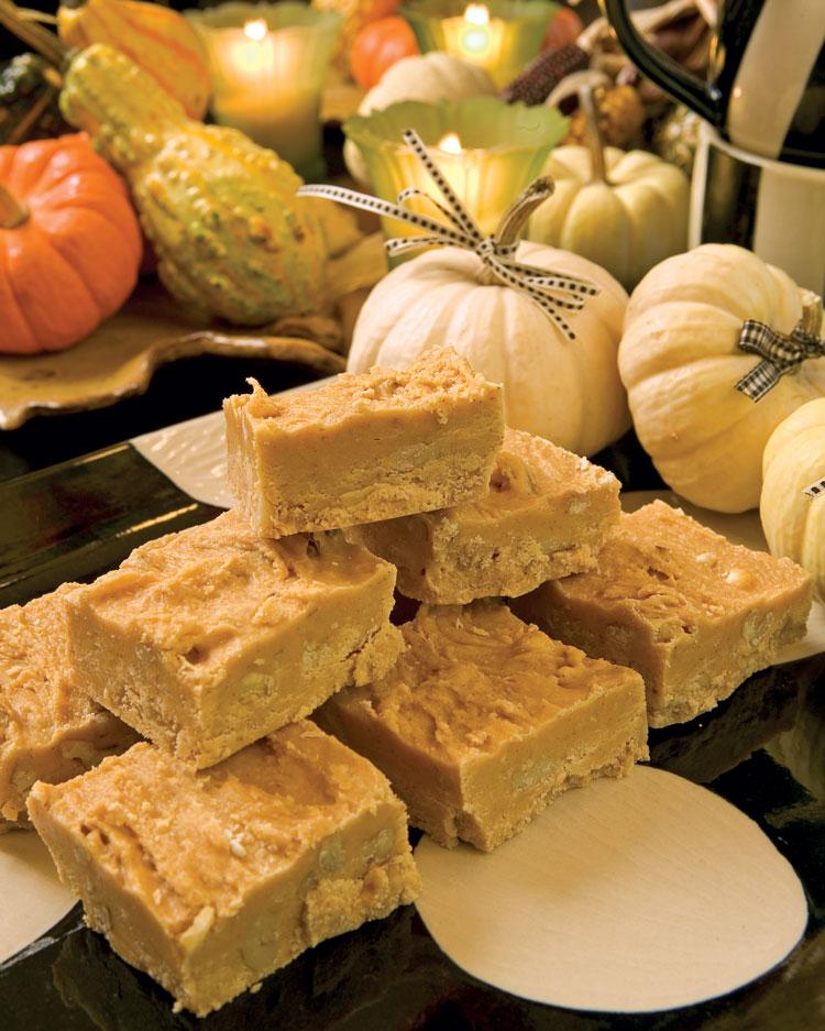 A picture of Pumpkin Fudge