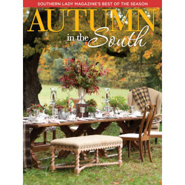 A picture of the cover of Southern Lady magazine's Autumn in the South 2015 special issue