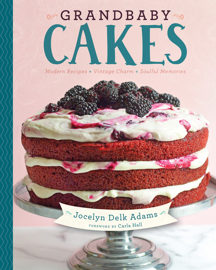 A picture of the cover of the cookbook Grandbaby Cakes