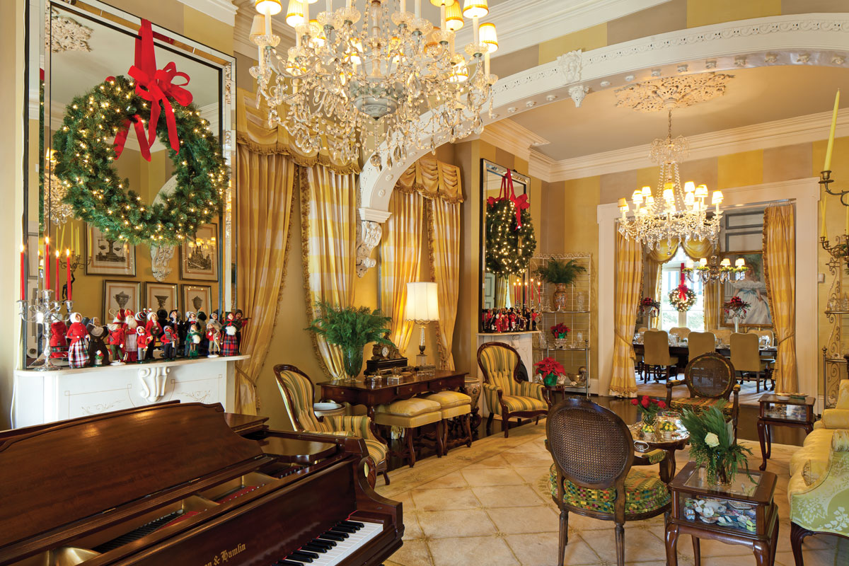 home decor stores in new orleans new orleans home showcases yuletide spirit southern mag 13345