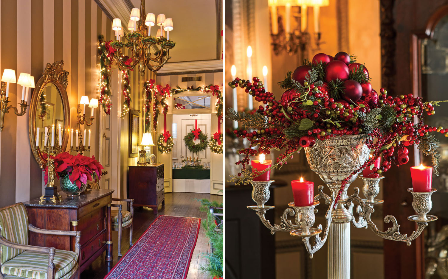 New Orleans Home Showcases Yuletide Spirit Southern Lady Mag