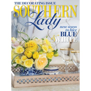 A picture of the cover of Southern Lady's January/February issue