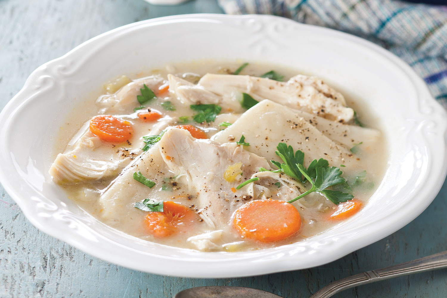 Traditional Chicken And Dumplings Southern Lady Magazine
