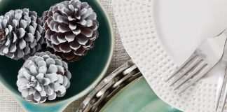 A photo of aqua marine Corsica dishes by Cassafina for Mix & Match