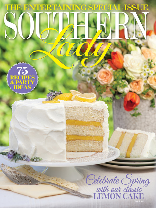 A picture of the cover of Southern Lady's March/April issue