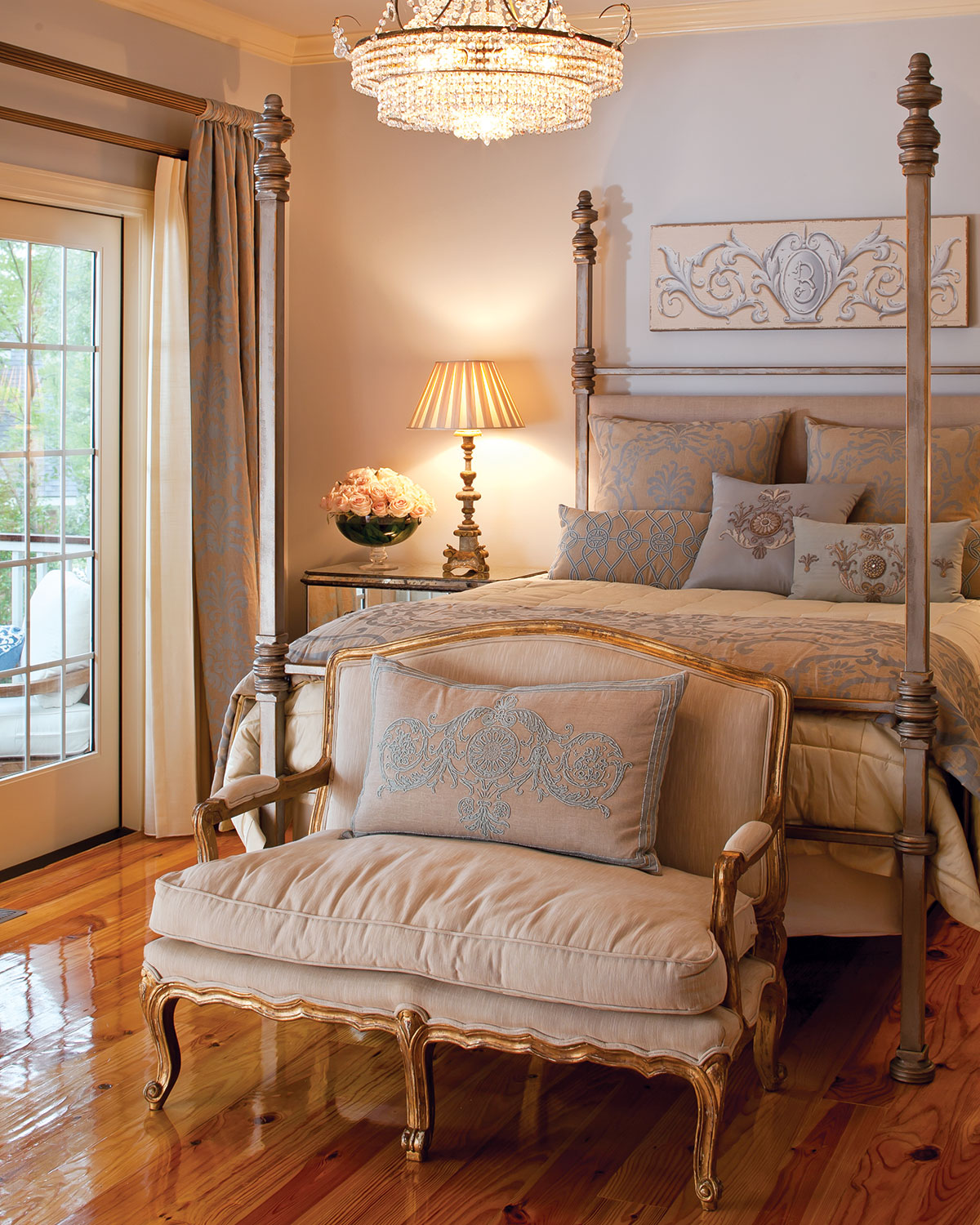 10 Cozy And Dreamy Bedroom With Galaxy Themes: 10 Dreamy Southern Bedrooms