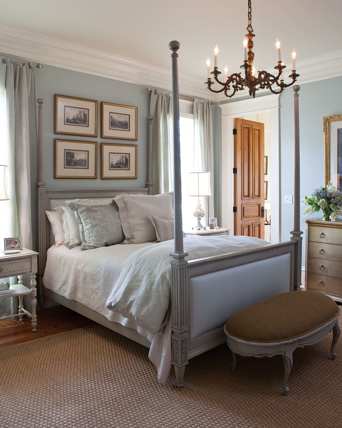 10 dreamy southern bedrooms page 3 of 10 southern lady for Bedroom decorating gallery