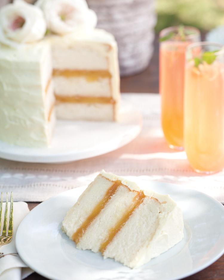 coconut lemon cake southern lady magazine