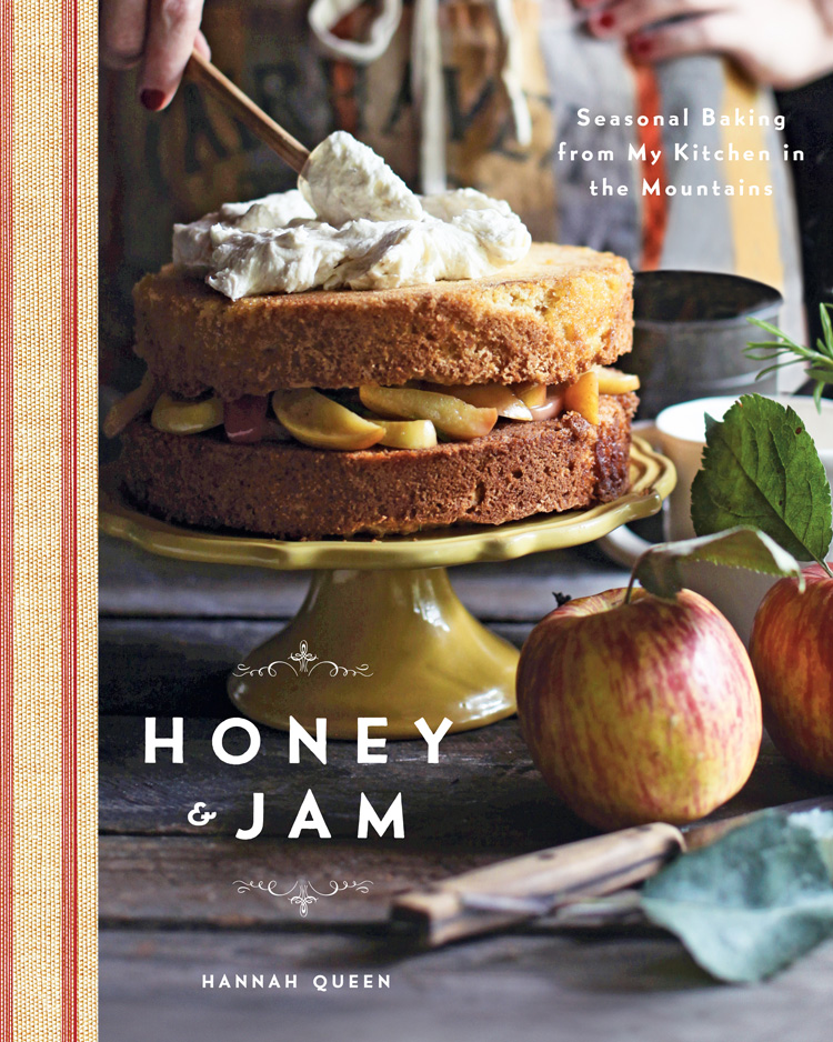 A picture of Hannah Queen's Honey & Jam cookbook