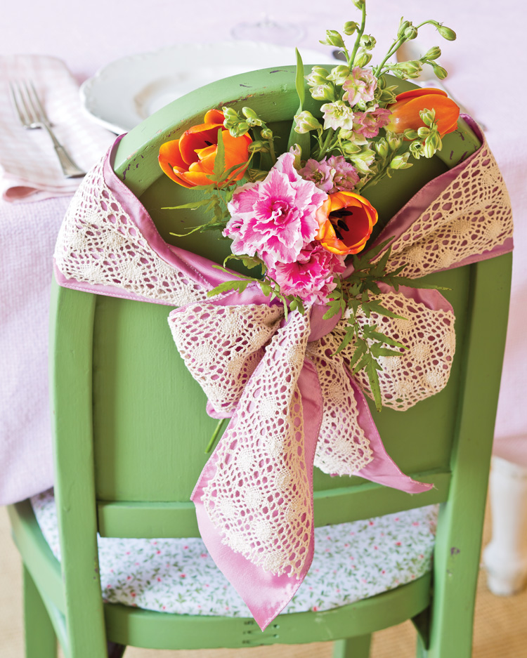 A picture of a fresh decorating idea to welcome spring