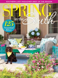 A picture of the cover of Southern Lady magazine's 2016 Spring in the South special issue