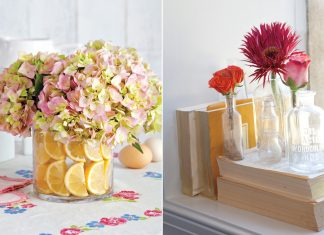 A picture of fresh decorating ideas to welcome spring