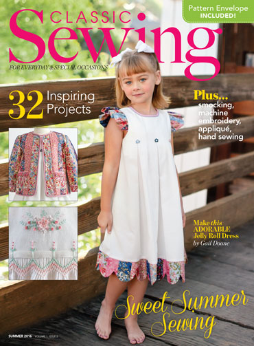 Classic Sewing Summer 2016