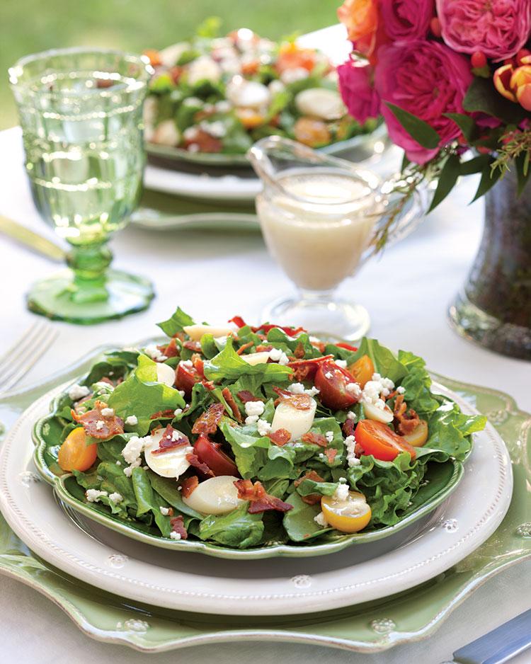 Green Jacket Salad with Wine Vinaigrette - Southern Lady Magazine