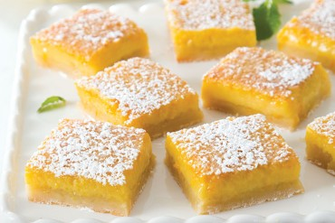 Egg Dishes, Orange Custard Bars
