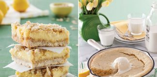 Lemon desserts for spring
