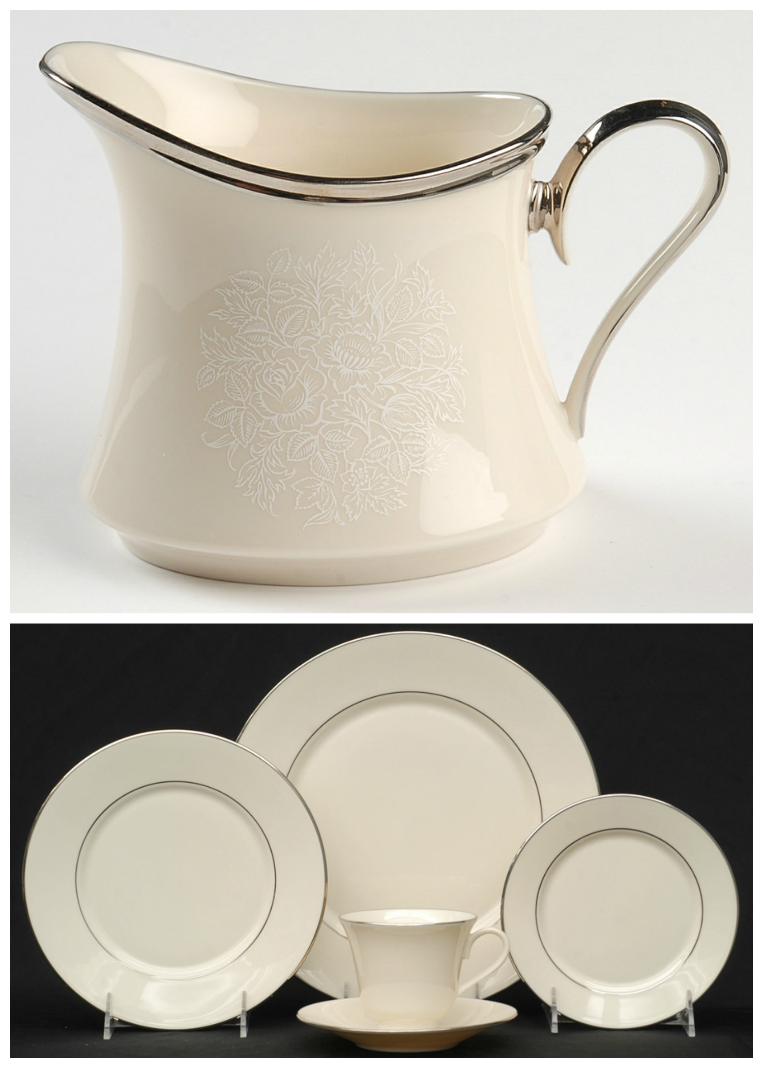 Lenox Maywood Moonspun china