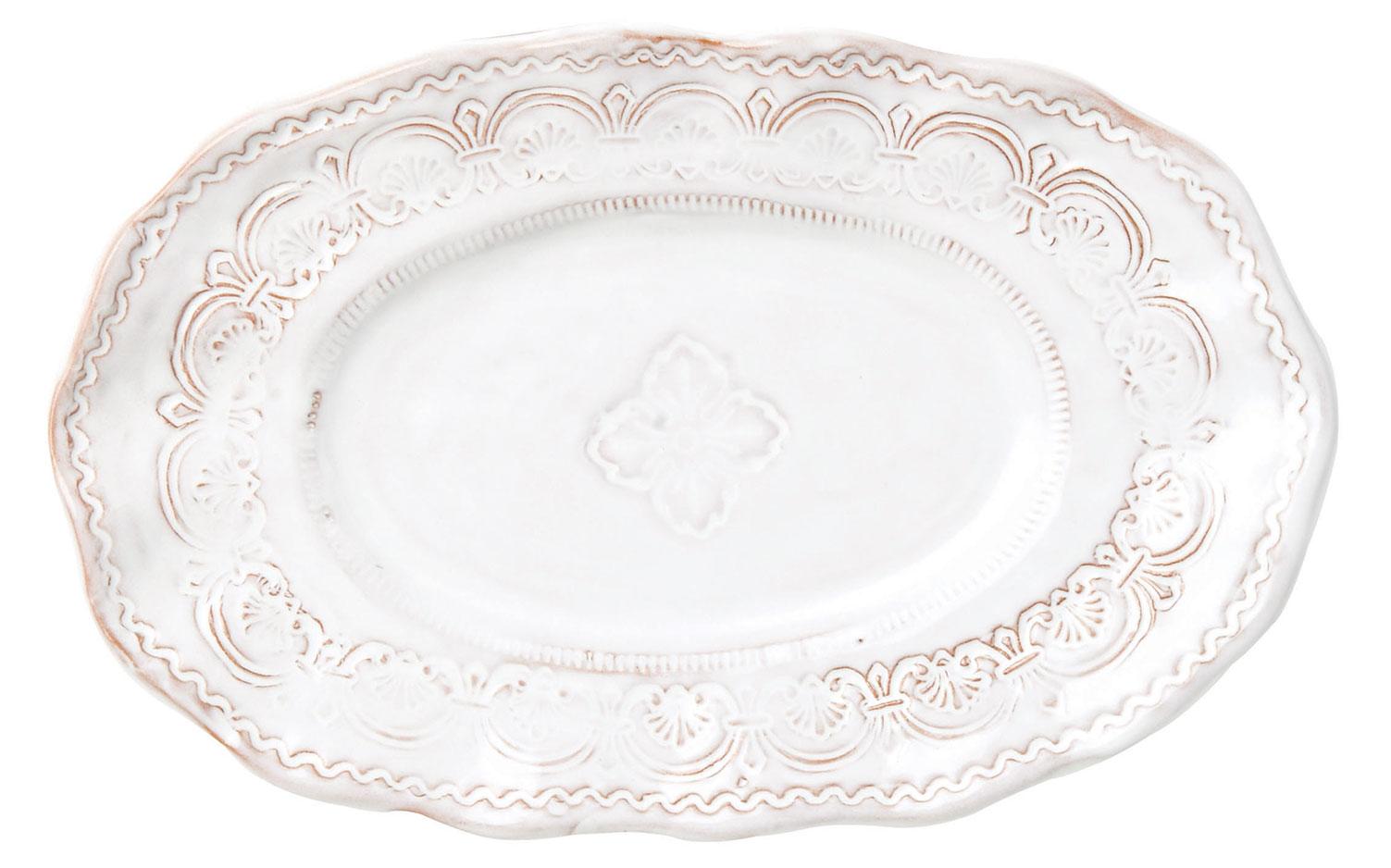 Vietri Bellezza White china